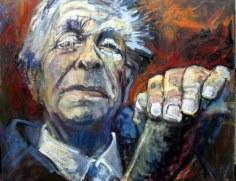 Jorge Luís Borges por Beti Alonso
